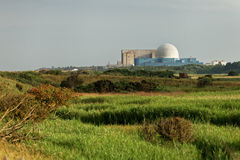 σταθμός πυρηνικής ενέργε&iota Στοκ Φωτογραφία