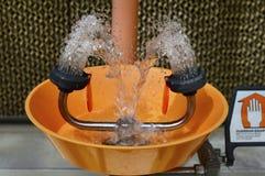 Σταθμός πλυσίματος ματιών εργαστηρίων Στοκ Εικόνες