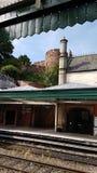 Σταθμός ραγών Shrewsbury στοκ φωτογραφία με δικαίωμα ελεύθερης χρήσης