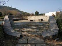 Σταθμός ρολογιών κοντά στο μουσείο 037 liangzhu στοκ φωτογραφία με δικαίωμα ελεύθερης χρήσης