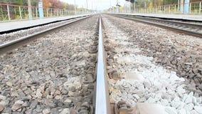 Σταθμός σιδηροδρόμου Ρωσία voronezh απόθεμα βίντεο
