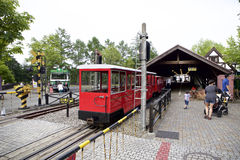 Σταθμός σιδηροδρόμου του Ρόμνεϊ στοκ φωτογραφία με δικαίωμα ελεύθερης χρήσης