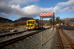 σταθμός σιδηροδρόμων ddu rhyd Στοκ φωτογραφίες με δικαίωμα ελεύθερης χρήσης