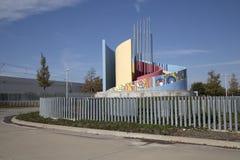 Σταθμός Τέξας ΗΠΑ βόρειου Carrollton Frankford της Νίκαιας Στοκ φωτογραφίες με δικαίωμα ελεύθερης χρήσης