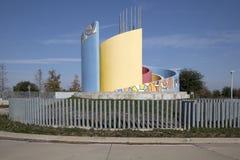Σταθμός Τέξας ΗΠΑ βόρειου Carrollton Frankford Στοκ Φωτογραφίες