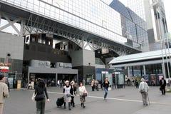 σταθμός της Ιαπωνίας Κιότο Στοκ Εικόνες