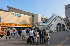 σταθμός της Ιαπωνίας Ναγκά Στοκ Φωτογραφίες