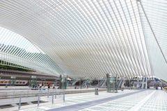 Σταθμός της Λιέγης Στοκ Φωτογραφία