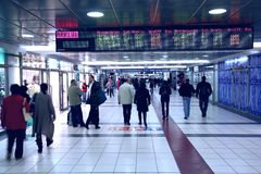 Σταθμός της Ρώμης Στοκ φωτογραφία με δικαίωμα ελεύθερης χρήσης