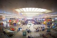 Σταθμός της Σαγκάη Hong Qiao στοκ εικόνες