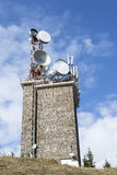 Σταθμός τηλεοπτικών ηλεκτρονόμων Στοκ φωτογραφίες με δικαίωμα ελεύθερης χρήσης