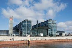 Σταθμός του Βερολίνου Reilway Στοκ φωτογραφία με δικαίωμα ελεύθερης χρήσης