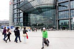 Σταθμός του Βερολίνου Hauptbahnhof Στοκ εικόνα με δικαίωμα ελεύθερης χρήσης