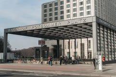 Σταθμός του Βερολίνου Potsdamer Platz στο Βερολίνο Στοκ φωτογραφία με δικαίωμα ελεύθερης χρήσης