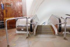 Σταθμός του σταθμού Krasnye Vorota μετρό της Μόσχας Στοκ Φωτογραφίες