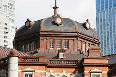 Σταθμός του Τόκιο σε Chiyoda, Τόκιο, Ιαπωνία Στοκ εικόνα με δικαίωμα ελεύθερης χρήσης