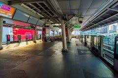 Σταθμός τρένου ουρανού του Σιάμ BTS Στοκ φωτογραφίες με δικαίωμα ελεύθερης χρήσης