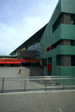Σταθμός τρένου ραγών Tiburtina Στοκ Φωτογραφίες