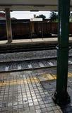 Σταθμός τρένου στην Ιταλία Στοκ Εικόνες