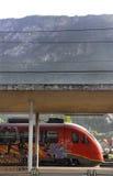Σταθμός τρένου στην Ιταλία Στοκ Εικόνα
