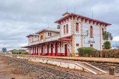 Σταθμός τρένου στο Antsirabe Στοκ φωτογραφία με δικαίωμα ελεύθερης χρήσης