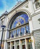 Σταθμός τρένου της Βουδαπέστης Στοκ Εικόνες