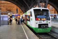Σταθμός τρένου της Γερμανίας Στοκ Εικόνες