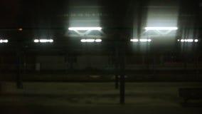 Σταθμός τρένου της Colmar τη νύχτα