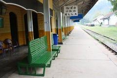 Σταθμός τρένου της Ella στη Σρι Λάνκα Στοκ εικόνες με δικαίωμα ελεύθερης χρήσης