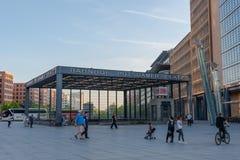Σταθμός τρένου του Βερολίνου Potsdamer Platz στοκ φωτογραφία με δικαίωμα ελεύθερης χρήσης