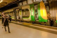 Σταθμός τρένου του Λονδίνου Euston Στοκ Εικόνες