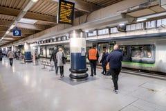 Σταθμός τρένου του Λονδίνου Euston Στοκ φωτογραφία με δικαίωμα ελεύθερης χρήσης