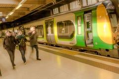 Σταθμός τρένου του Λονδίνου Euston Στοκ εικόνες με δικαίωμα ελεύθερης χρήσης