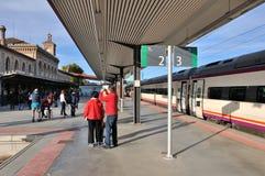 Σταθμός τρένου του Τολέδο στοκ εικόνες