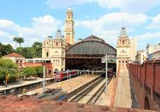 Σταθμός τρένου του Paulo São Στοκ Εικόνες