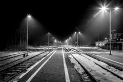 Σταθμός τρένου Στοκ Εικόνα