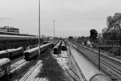 Σταθμός τρένου Στοκ Φωτογραφίες