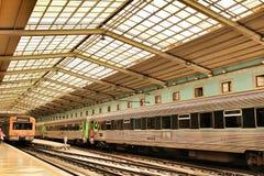 Σταθμός τρένου Apolonia Santa στη Λισσαβώνα Στοκ Εικόνες