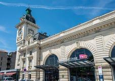 Σταθμός τρένου Bayonne Aquitaine, Γαλλία στοκ εικόνα με δικαίωμα ελεύθερης χρήσης