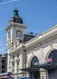 Σταθμός τρένου Bayonne Aquitaine, Γαλλία στοκ φωτογραφίες