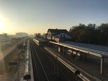 Σταθμός τρένου Cleves στοκ εικόνες με δικαίωμα ελεύθερης χρήσης