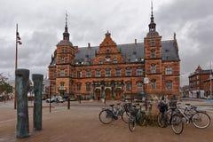 Σταθμός τρένου Helsingor, Δανία στοκ εικόνες με δικαίωμα ελεύθερης χρήσης