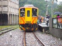 Σταθμός τρένου Jingtong στην Ταϊβάν Στοκ εικόνες με δικαίωμα ελεύθερης χρήσης