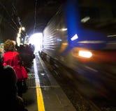 Σταθμός τρένου Vernazza στοκ εικόνες
