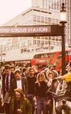 Σταθμός τσίρκων της Οξφόρδης διανομής εφημερίδων Στοκ φωτογραφίες με δικαίωμα ελεύθερης χρήσης