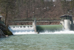 σταθμός υδρενέργειας Στοκ εικόνες με δικαίωμα ελεύθερης χρήσης