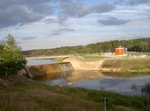 σταθμός υδροηλεκτρικής παραγωγής ηλεκτρικού ρεύματος στοκ φωτογραφίες
