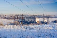 σταθμός υδροηλεκτρική&sigmaf Στοκ Φωτογραφίες