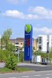 Σταθμός χρέωσης αυτοκινήτων Στοκ εικόνες με δικαίωμα ελεύθερης χρήσης