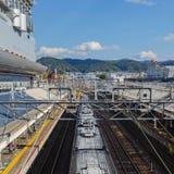 Σταθμός Arashiyama μακριών περιπετειωδών μυθιστορημάτων στο Κιότο Στοκ Εικόνες